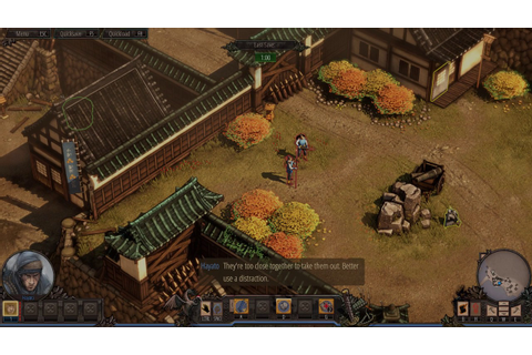 Shadow Tactics: Blades of the Shogun (PC) gameplay - YouTube