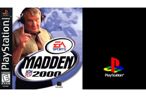 Madden NFL 2000 (Sony Playstation) Rams vs Titans ...