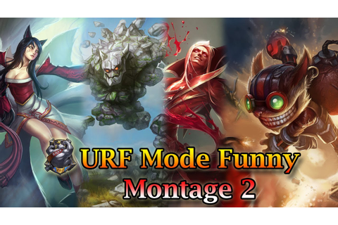 League of Legends - Ultra Rapid Fire Game Mode - Funny ...