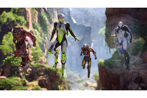 Anthem Is Looking Good In New Screenshots and Concept Art