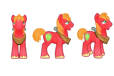 Image - My little pony mobile game Big Mac Model.png | My ...