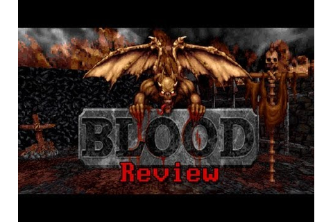 LGR - Blood - DOS PC Game Review - YouTube