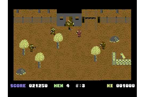 C64 Longplay - Who Dares Wins 2 (HQ) - YouTube