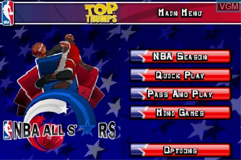 Top Trumps - NBA All Stars for Nintendo DS - The Video ...