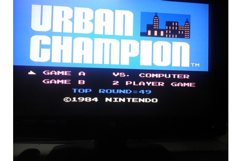 Urban Champion: Game A (NES/Famicom Emulated) high score ...
