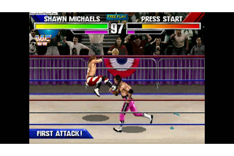 WWF Wrestlemania The Arcade Game Shawn Michaels Gameplay ...