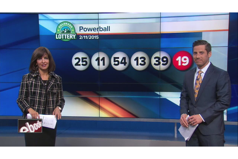 Winning Powerball numbers announced - YouTube