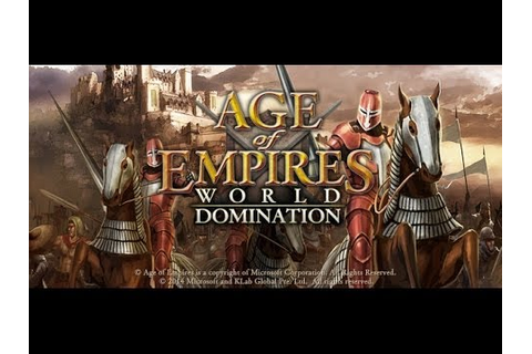 Age of Empires World Domination HD Teaser Trailer iOS ...