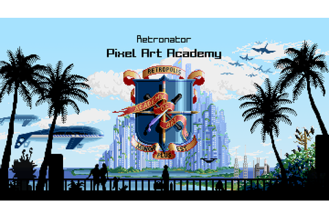 Pixel Art Academy // Adventure game for learning how to draw