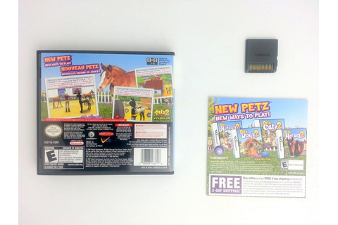Petz Horsez 2 game for Nintendo DS (Complete) | The Game Guy