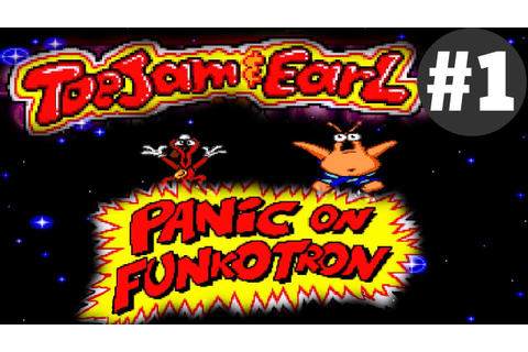 ToeJam & Earl in Panic on Funkotron #1 - YouTube