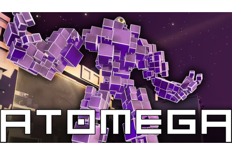 ATOMEGA Gameplay - I Am The Giant OMEGA! - Grow, Fight ...