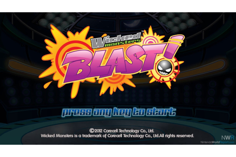 Wicked Monster BLAST! HD+ - Game - Nintendo World Report