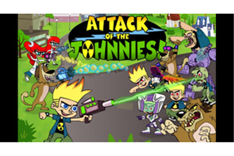 Cartoon network games johnny test - attack of the johnnies