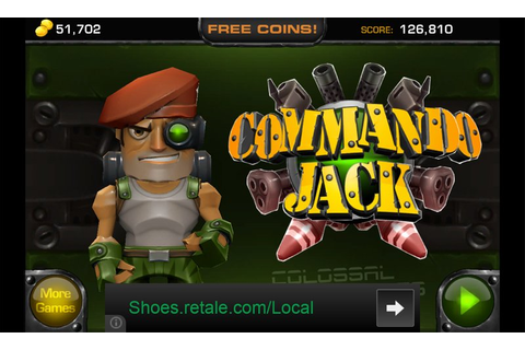 Commando Jack, a Windows Phone game that puts you in the ...