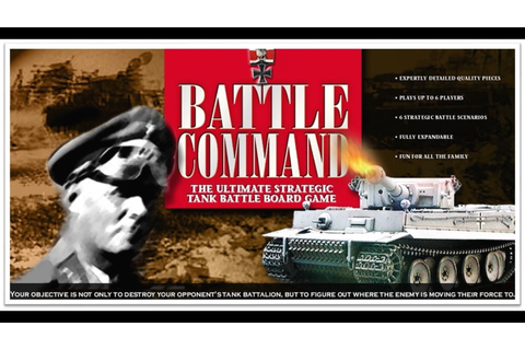 Battle Command the Board Game by Brian Wickham —Kickstarter
