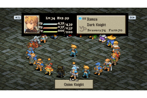 FINAL FANTASY TACTICS®: THE WAR OF THE LIONS™ Game | PSP ...