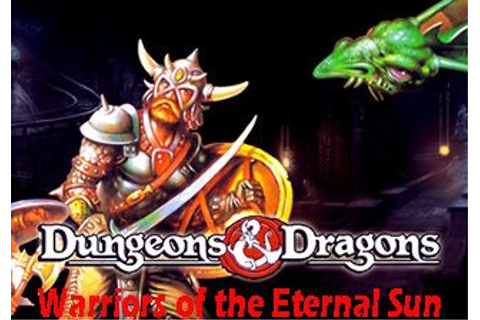 Dungeons & dragons: Warriors of the eternal sun - Symbian ...