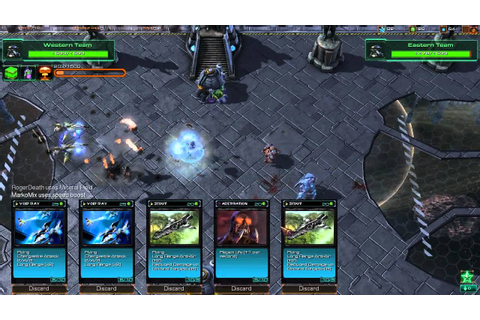 Starcraft 2 - THE Card Game - YouTube