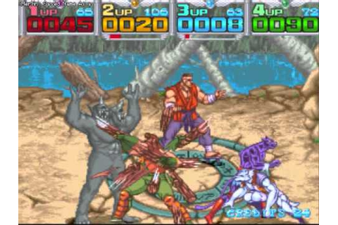 Metamorphic Force 4-Player Playthrough - YouTube