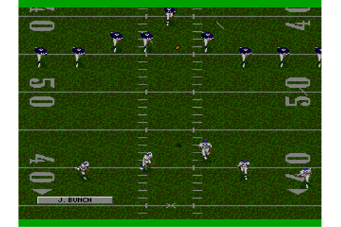 Download NFL Football '94 starring Joe Montana (Genesis ...