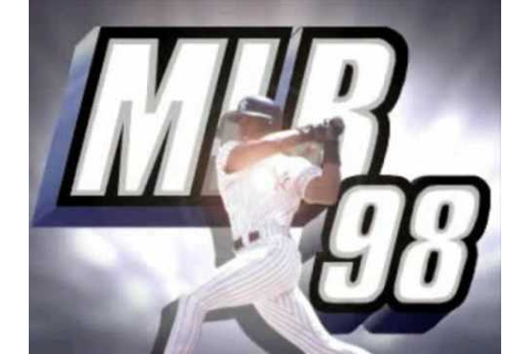 MLB 98 Intro - Playstation Game - YouTube