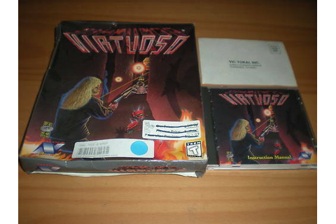 Virtuoso PC game COMPLETE Shooter CD 1994 | eBay
