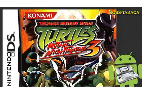 Teenage Mutant Ninja Turtles 3: Mutant Nightmare - DS on ...