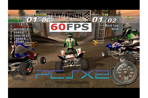 ATV Offroad Fury 3 PS2 PCSX2 60fps 16:9 1440p gameplay i7 ...
