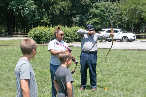 Fun & Games: Archery clinic hits the mark | The NC Triad's ...