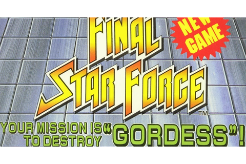 Final Star Force (portable) - Jurassic Game PC