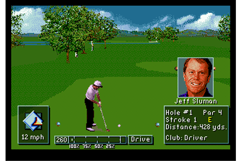 PGA Tour Golf III (USA, Europe) ROM