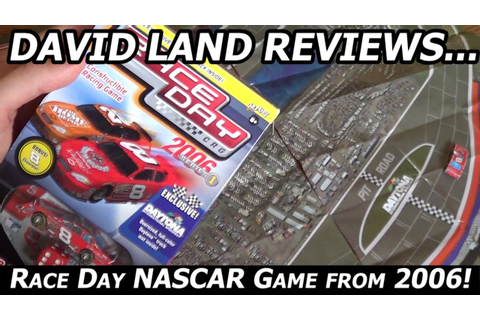 NASCAR Race Day CRG Game Unboxing/Review from 2006! - YouTube