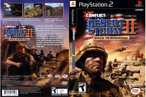 Conflict - Desert Storm II - Back to Baghdad (USA) ISO