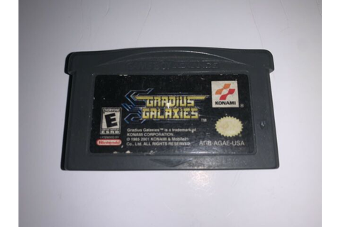 Gradius Galaxies Gba Gameboy Advance Game Cart Only | eBay