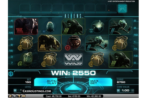 Free Aliens slot machine | Casino Listings free games