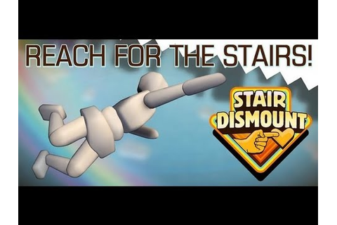 Stair Dismount - 3D ragdoll simulation game featuring the ...