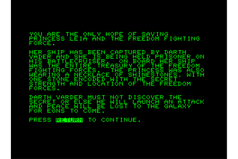 Dog Star Adventure Screenshots for Commodore PET/CBM ...