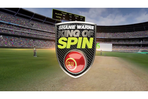 Shane Warne King of Spin VR Trailer - YouTube