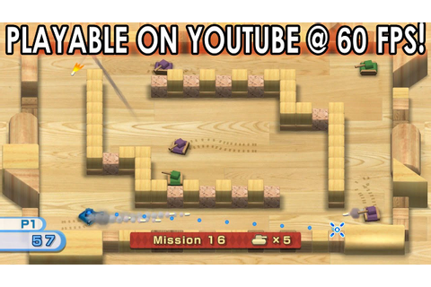 Wii Play: Tanks Game | Dolphin Emulator 4.0-5441 [1080p ...