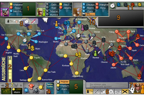 Pandemie (Pandemic) - Online Guide * BrettspielWelt ...