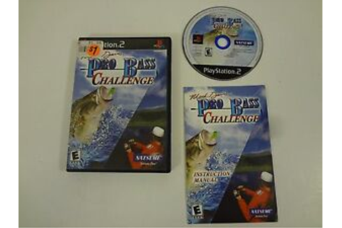 Mark Davis PRO BASS CHALLENGE PLAYSTATION 2 PS2 ...