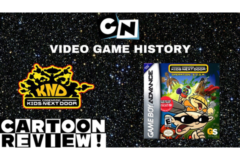 Codename: Kids Next Door - Operation: S.O.D.A. (GBA ...