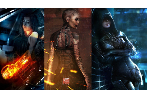 Mass Effect, Video Games, Miranda Lawson, Kasumi Goto ...