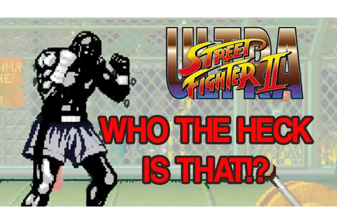 WHO'S THAT FIGHTER!? - Ultra Street Fighter 2 Online ...