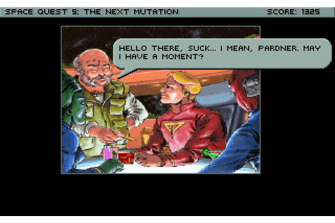 Download Space Quest V: The Next Mutation - My Abandonware