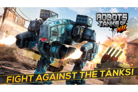 Amazon.com: Robot Tanks of War - Free Robots Fighting Game ...