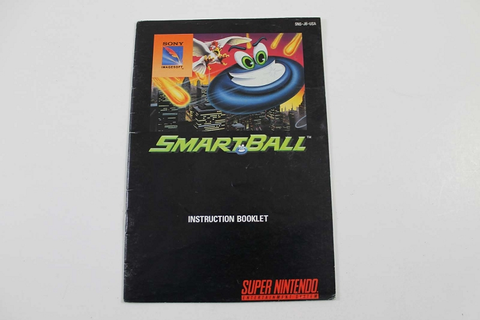 Manual - Smartball - Snes Super Nintendo