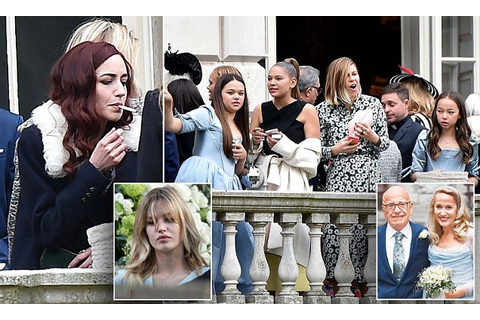 Rupert Murdoch and Jerry Hall's children join celebrities ...