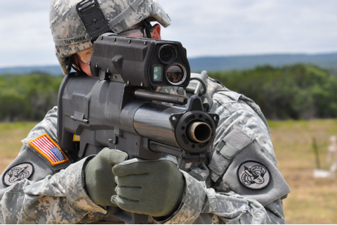 "ATK XM25 ""Game-Changer"" Semi-Auto 25mm Airburst Grenade ..."